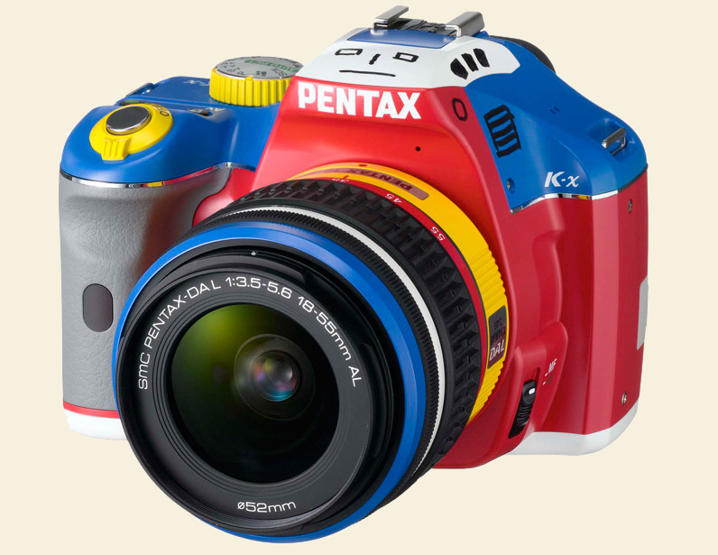 pentax k-x color selection