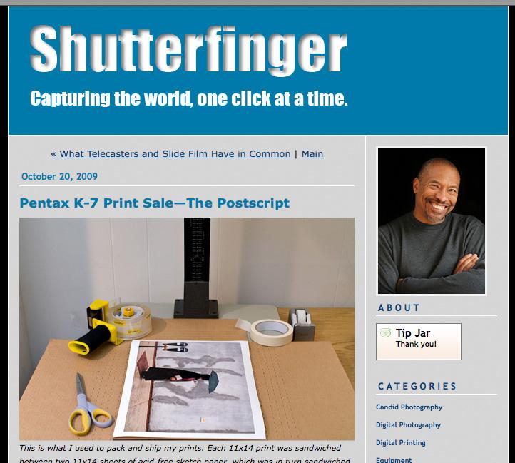 Shutterfinger
