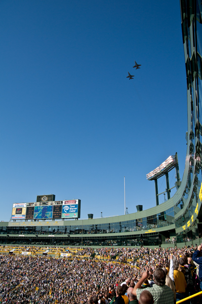 Packersflyover