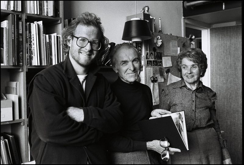 013_Peter Turnley, Robert Doisneau, Pierrette Doisneau