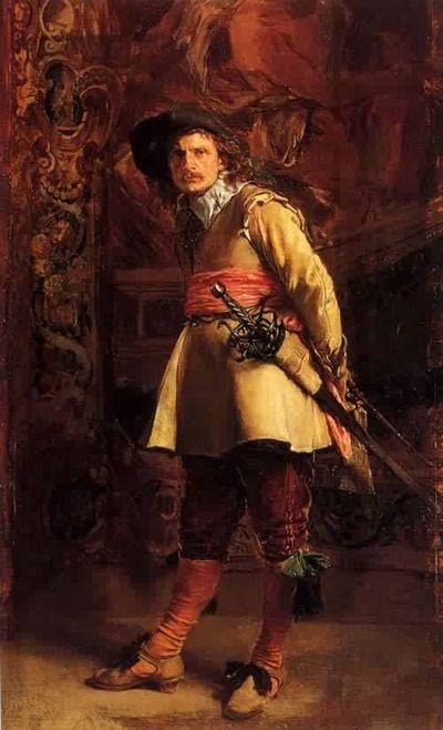 Jean-Louis-Ernest-Meissonier-Musketeer