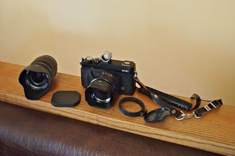 X-E1 w-Fuji lenses