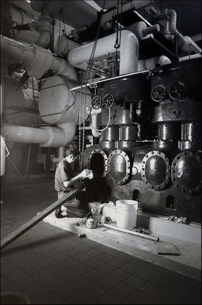 Frick Air Compressor circa. 1939