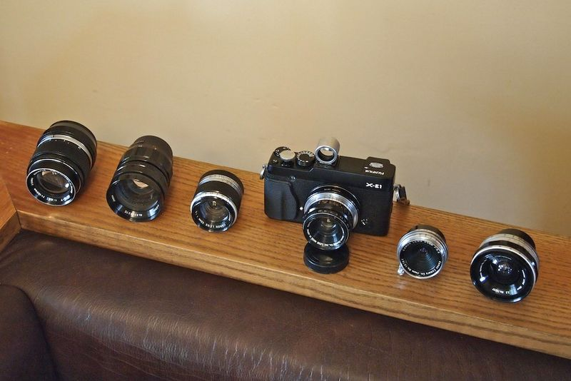 X-E1 w-Canon RF lenses +2 others
