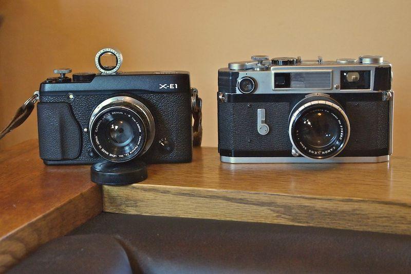 X-E1 w-Canon 7s