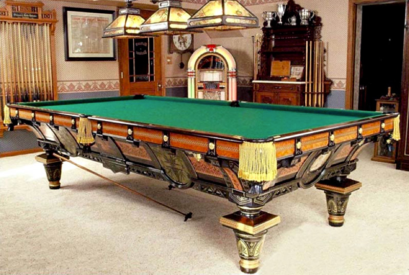 Antiquepooltable