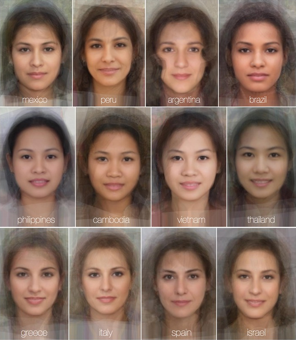 The Online Photographer: Averaged Faces of Various