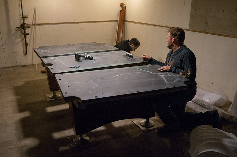 The Online Photographer Open Mike Photo Essay Part I - How much does a slate pool table weigh
