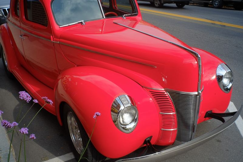 1940 Ford Street Rod front