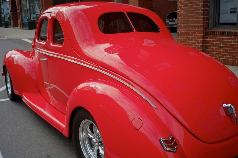 1940 Ford Street Rod rear