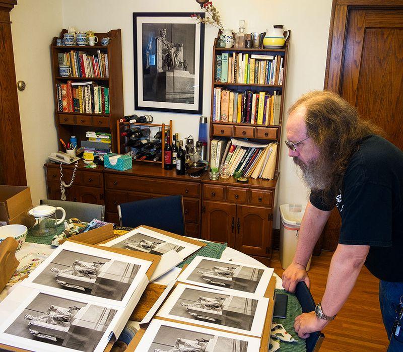 DDB evaluating prints