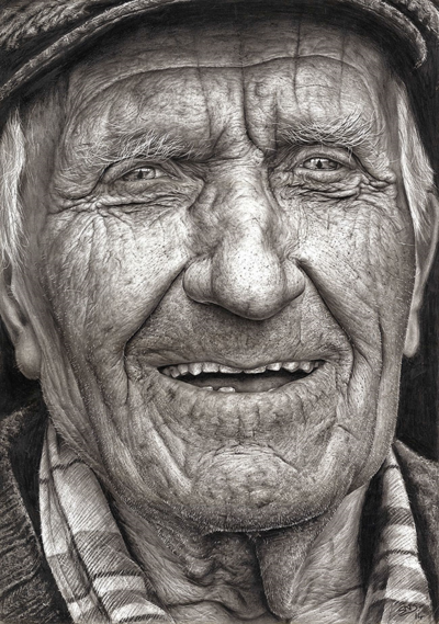 Mcdonaghpencilportrait