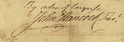 John Hancock's John Hancock