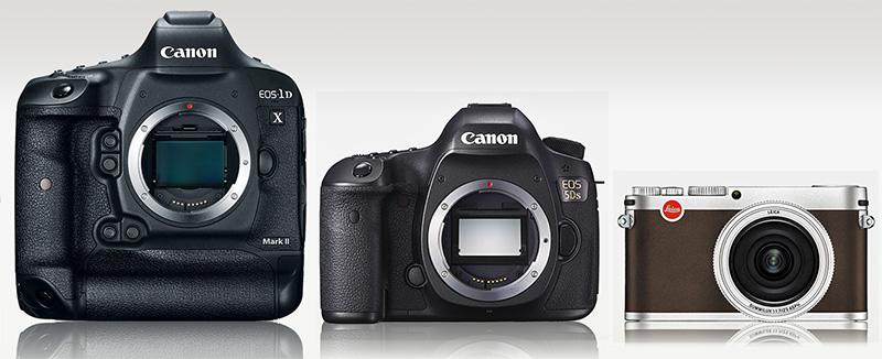 Canon 1D X II etc.
