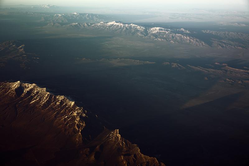 Long Mountain Shadows Nevada