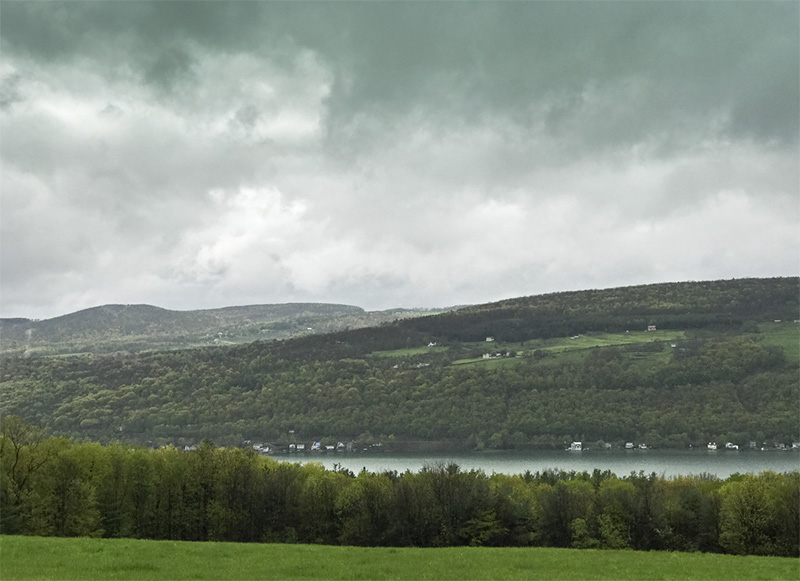 Keuka in the rain-3