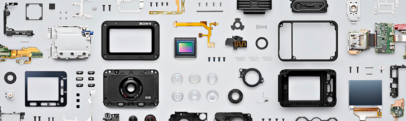 Sony RX0 parts