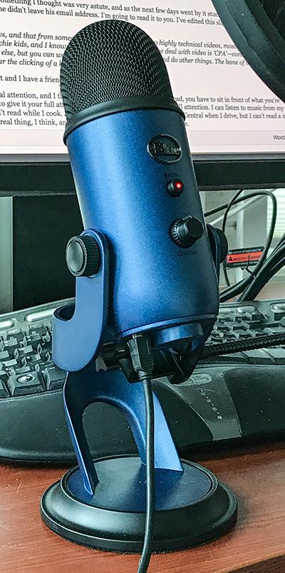 Blue Blue Yeti