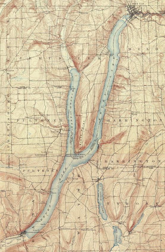 Keuka Map