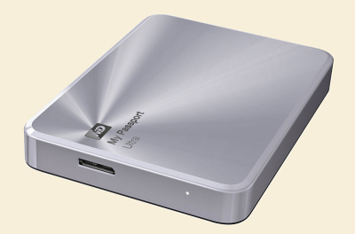 My Passport 2TB silver