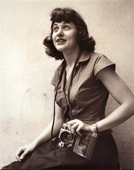Ruth orkin self portrait