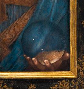 Salvator Mundi detail