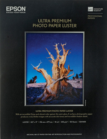 Ultra Premium Photo Paper Lustre