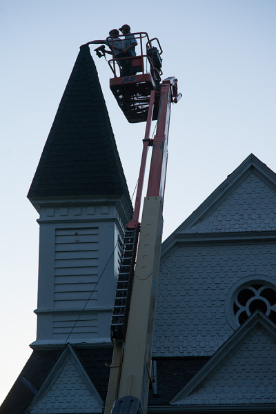 Fixing the Steeple