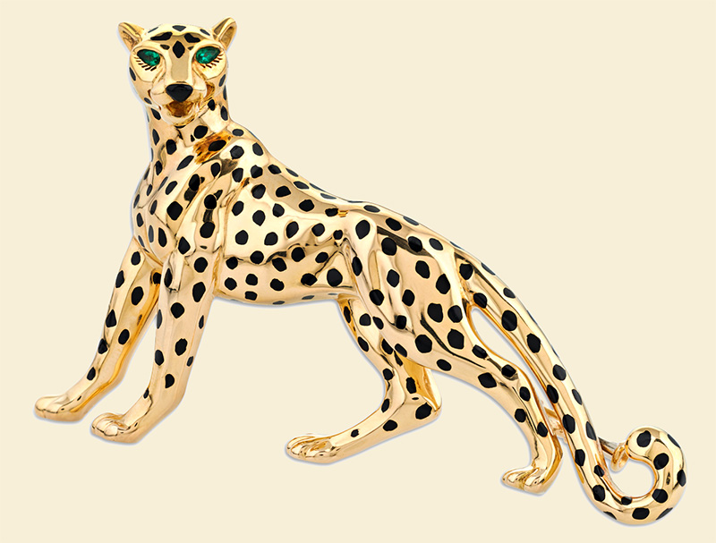 Panther brooch