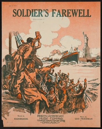 Soldiers farewell