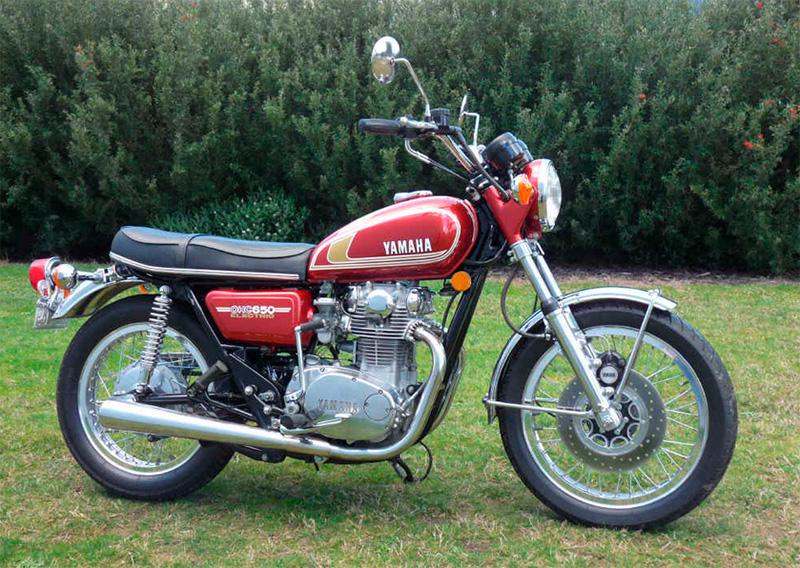 Yamaha 650 twin