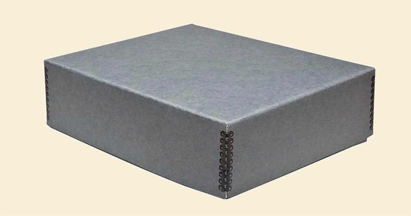 Metal edge box