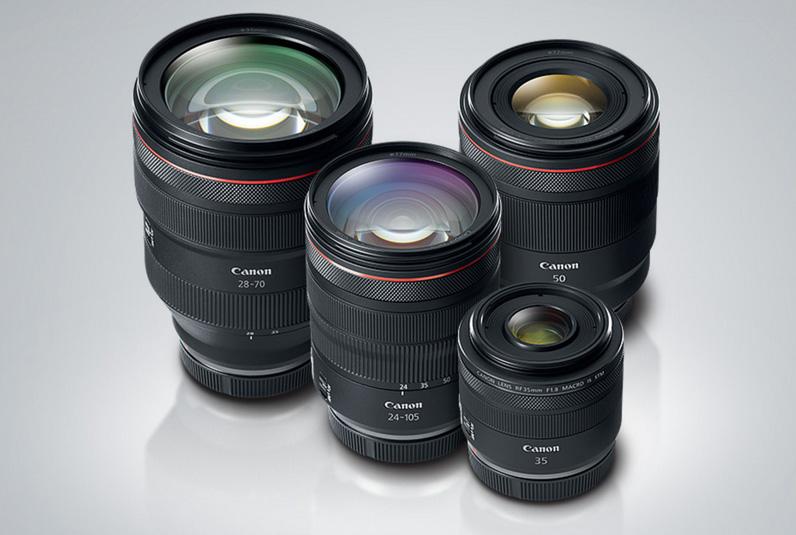 Canon R lenses
