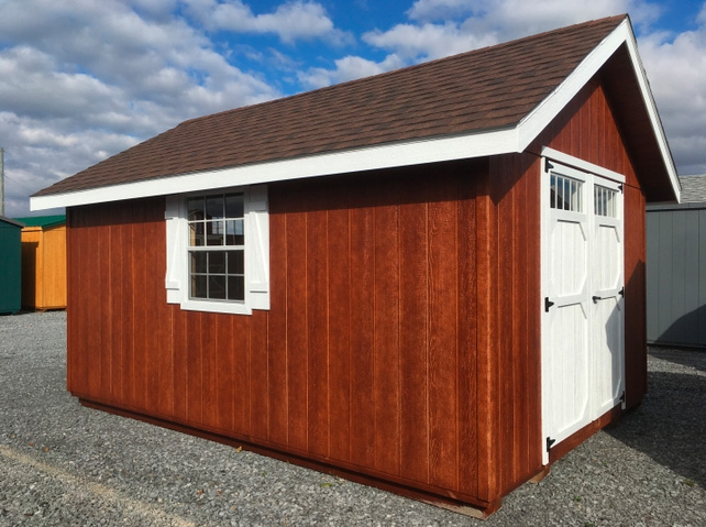 Gable-end shed