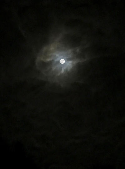 Moon phone small