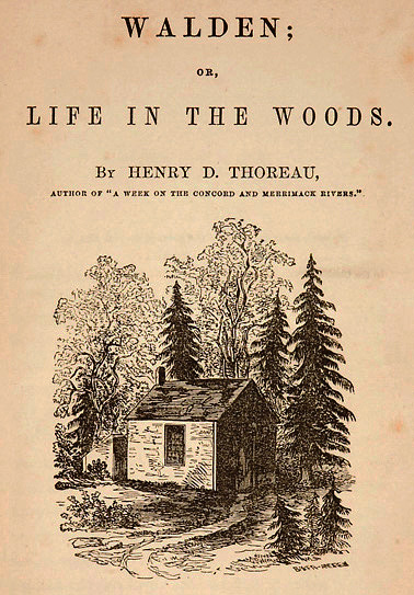 Walden title page