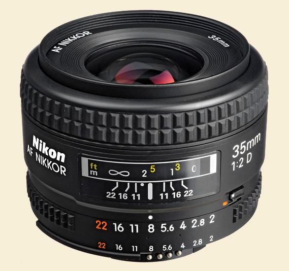 Nikon 35mm f2d