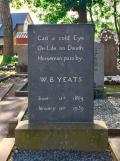 Yeats tombstone