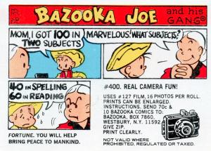 Bazooka joe