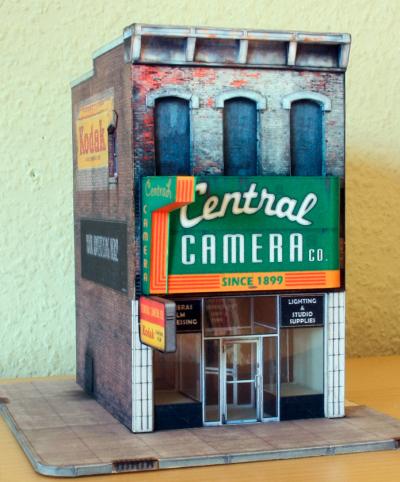 Held Central Camera