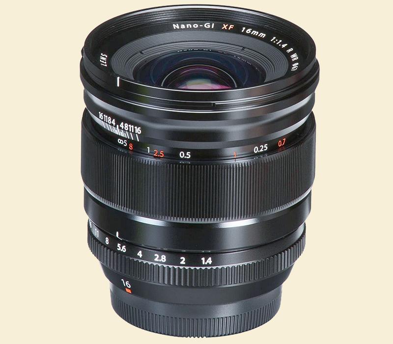 Fuji 16mm f14