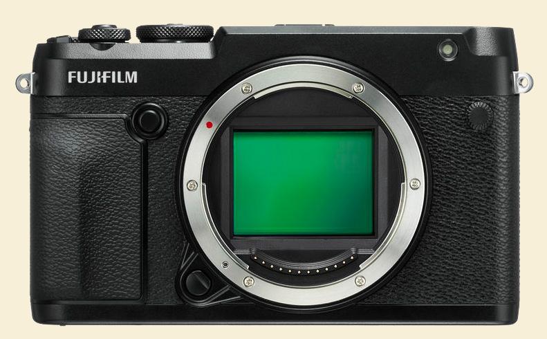 Fuji gfx 50r front