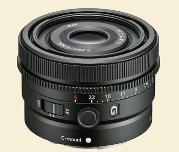 Sony 40mm f:2.5