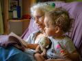 BD-1 Nana reading a book to Aveline