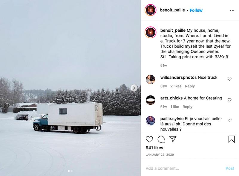 Benoits truck