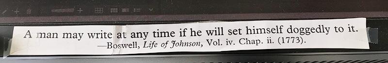 Johnson quotation